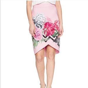 NWT Ted Baker floral skirt.